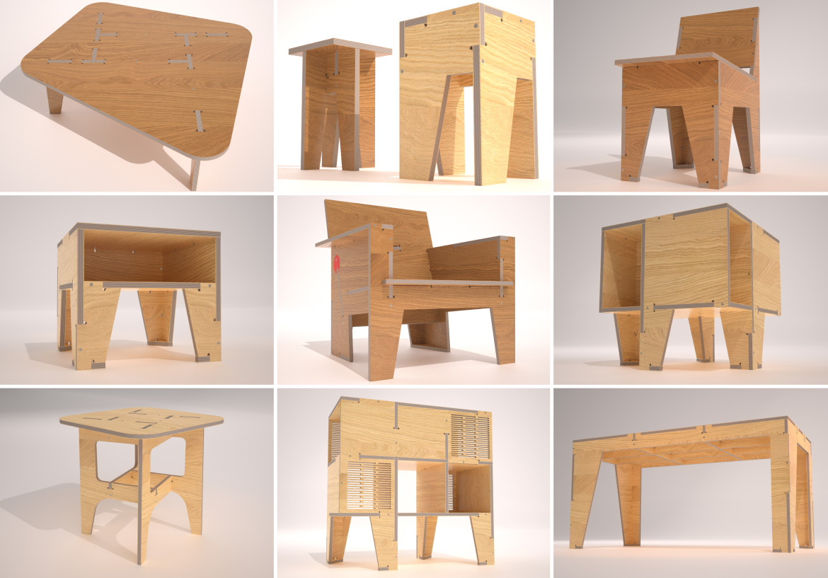 Support atfab on kickstarter filson and rohrbacher for Open design furniture
