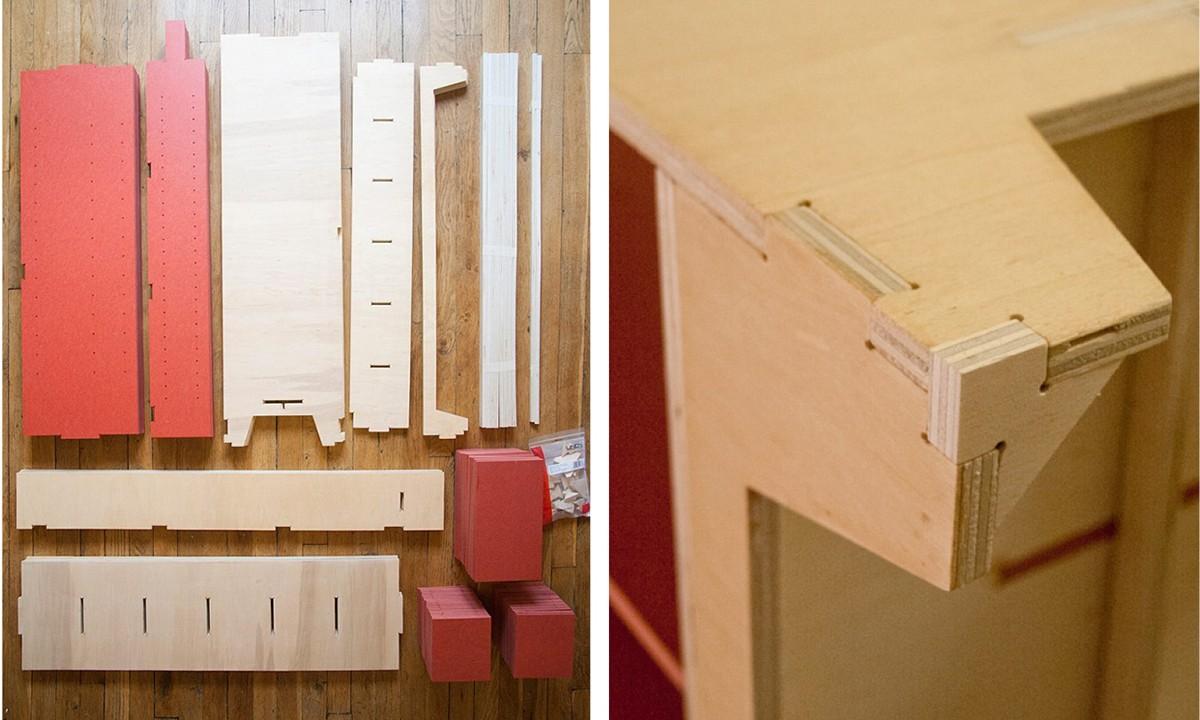 AtFAB CNC Furniture Storage Unit