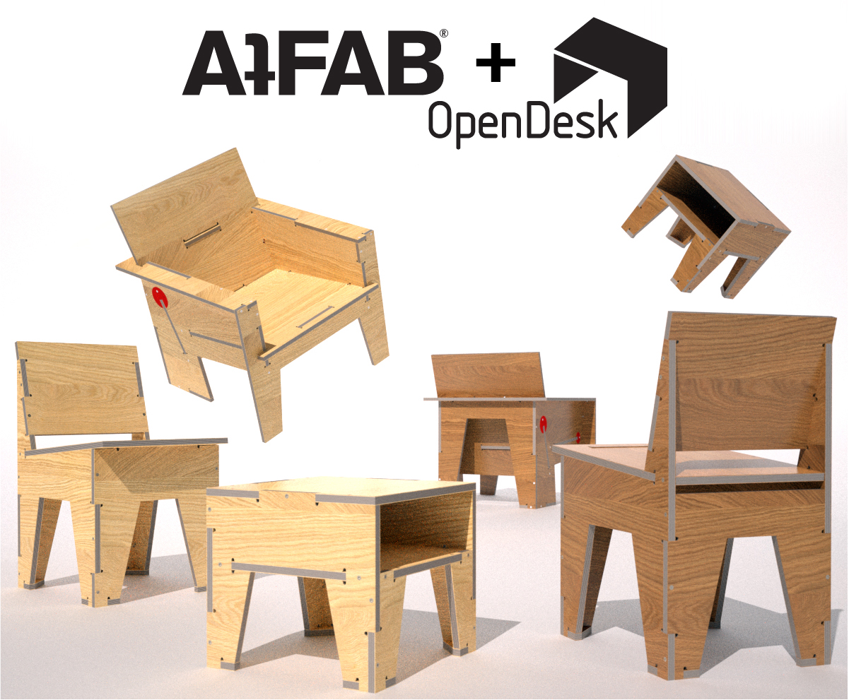 Atfab joins forces with opendesk filson and rohrbacher for Open design furniture