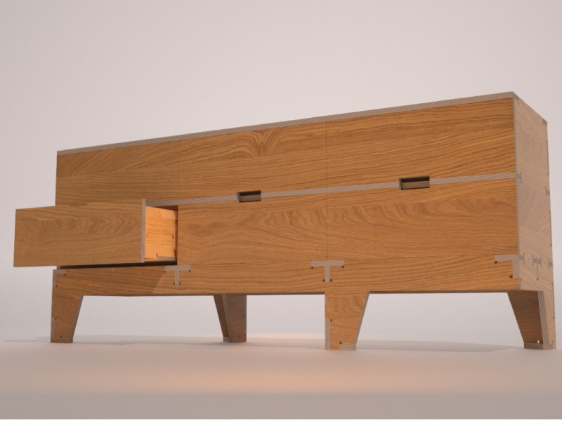 Walking Chest of Drawers