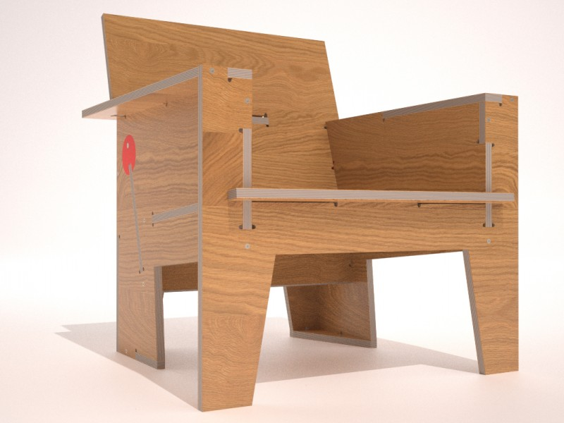 Ninety Minute Lounge Chair